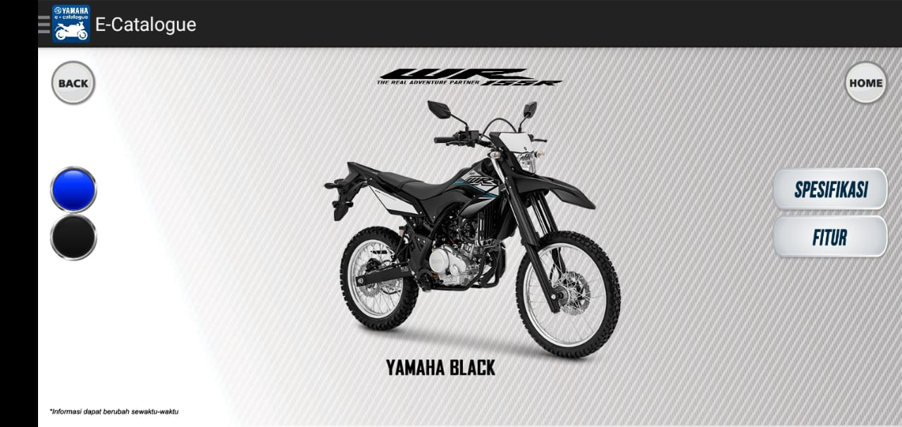 All new WR 155